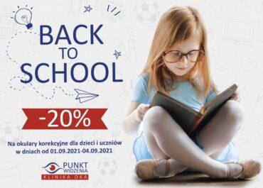 -20% na dobry początek roku szkolnego!